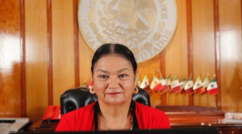 La presidente de la Mesa Directiva de la Cámara de Diputados menciona los pendientes que tendrá la LXV Legislatura.