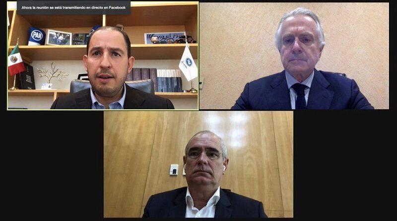 El Partido Acción Nacional (PAN) expresó su apoyo total a Ricardo Anaya, ante la persecución política de que es objeto por el presidente Andrés Manuel López Obrador.