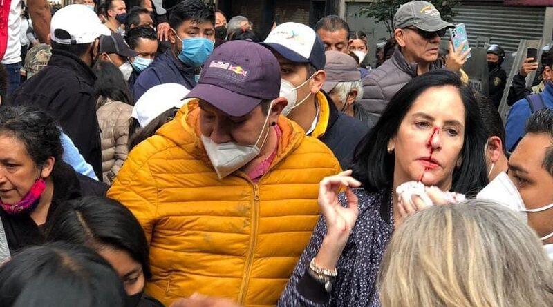 Misión Rescate México y PRD condenan agersión a Alcaldes opositores de la CDMX por parte del gobierno de Claudia Sheibaum.