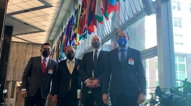 Solicitan al Secretario General de la OEA, Luis Almagro, que en su reunión general planteen el tema y puedan generar algunas recomendaciones u opiniones al respecto, a lo que Almagro mostró disposición absoluta.