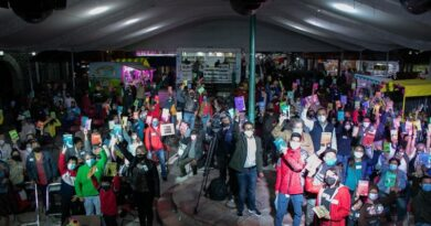 Los Reyes La Paz promueve sana convivencia, arte y cultura.