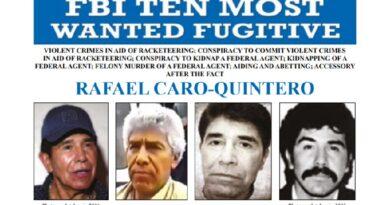 Para el FBI, Rafael Caro Quintero es el nuevo jefe del Cártel de Sinaloa y del suyo propio.